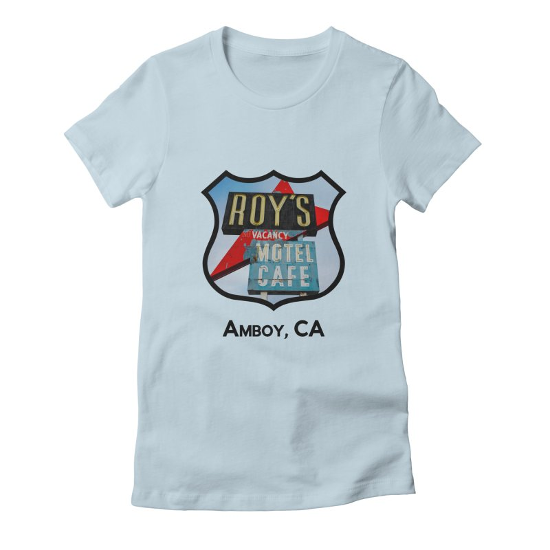 Roy's in Amboy Women's Fitted T-Shirt by Cloudless Lens