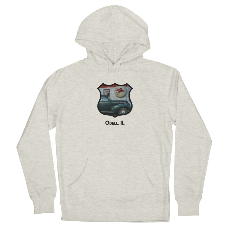 Mobil Station Men's French Terry Pullover Hoody by Cloudless Lens