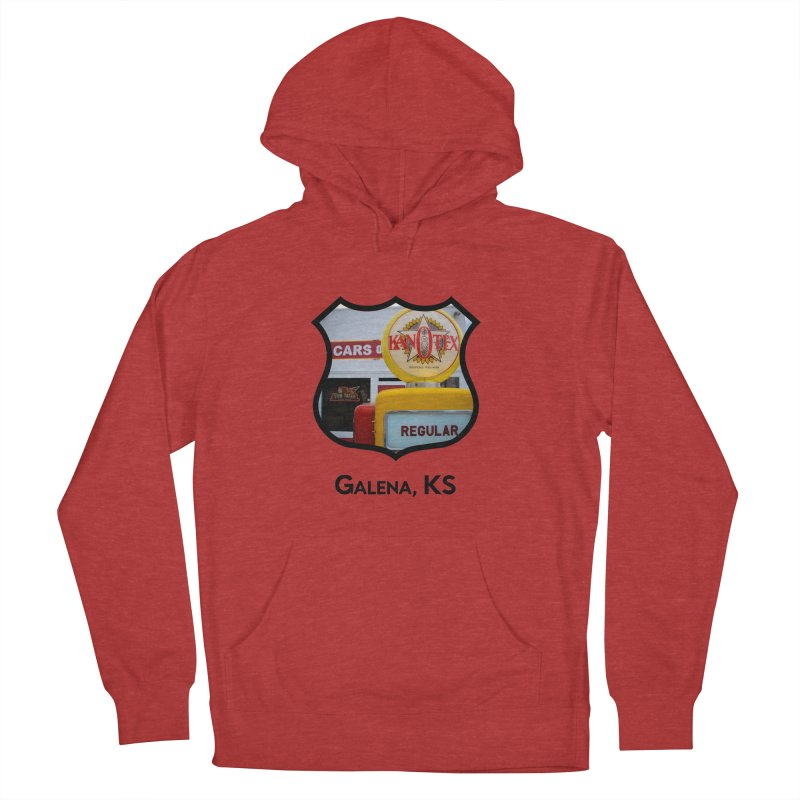 Cars on the Route Men's French Terry Pullover Hoody by Cloudless Lens