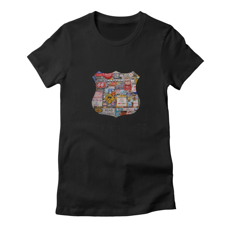 Signs in ABQ Women's T-Shirt by Cloudless Lens