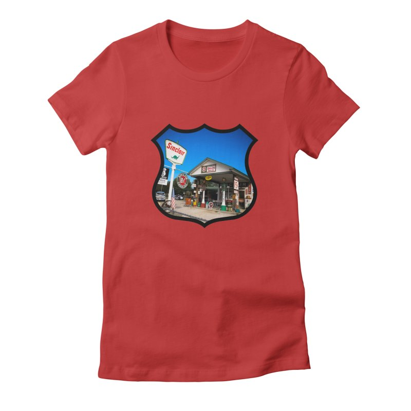 Gary Turner's Place Women's Fitted T-Shirt by Cloudless Lens