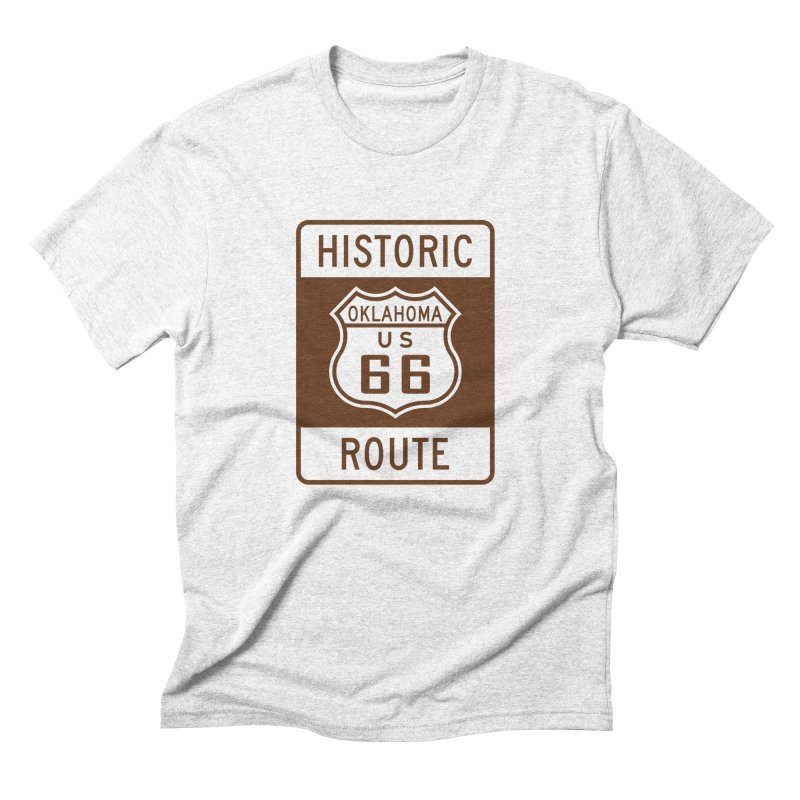 Historic OK-66 in Men's Triblend T-shirt Heather White by Cloudless Lens