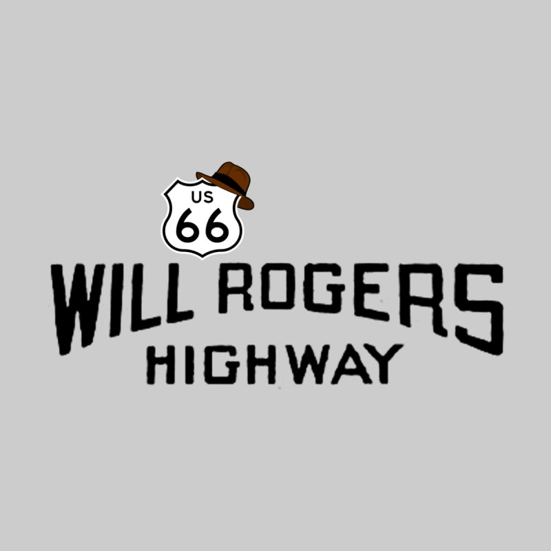 Will Rogers Highway Men's T-Shirt by Cloudless Lens