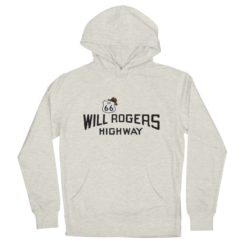 Will Rogers Highway Women's French Terry Pullover Hoody by Cloudless Lens