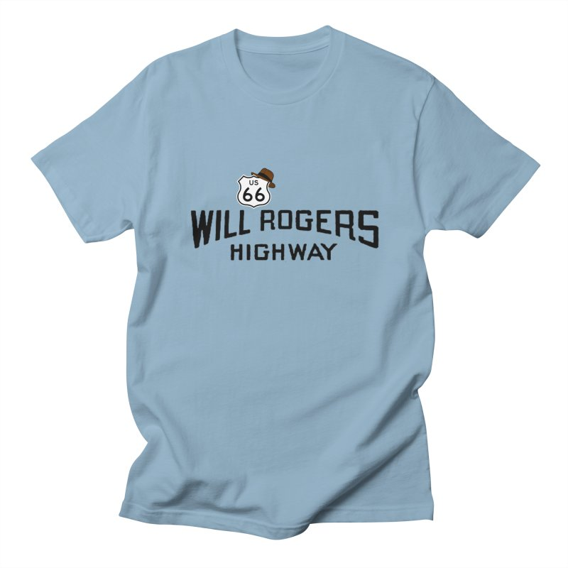 Will Rogers Highway Men's Regular T-Shirt by Cloudless Lens