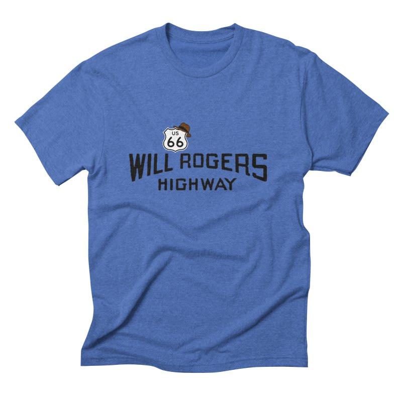 Will Rogers Highway Men's Triblend T-Shirt by Cloudless Lens