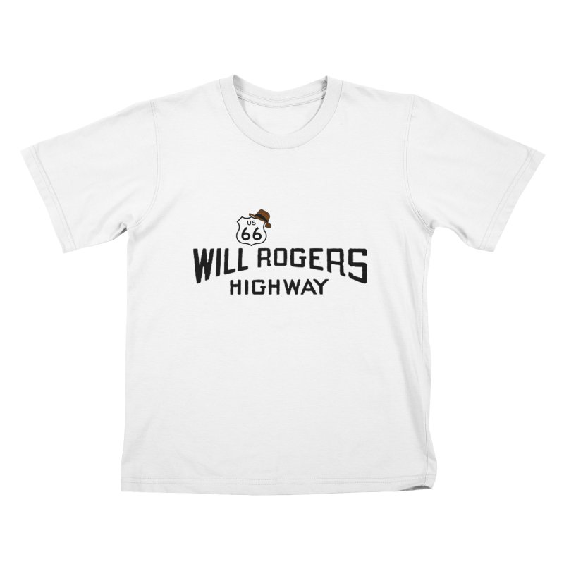 Will Rogers Highway Kids T-Shirt by Cloudless Lens