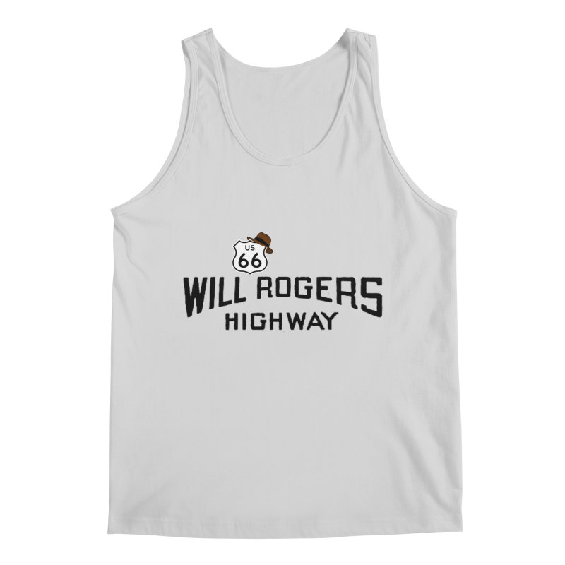 Will Rogers Highway Men's Regular Tank by Cloudless Lens