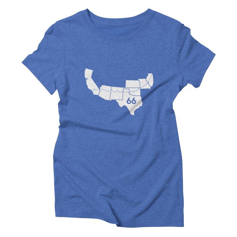 Home Women's Triblend T-Shirt by Cloudless Lens