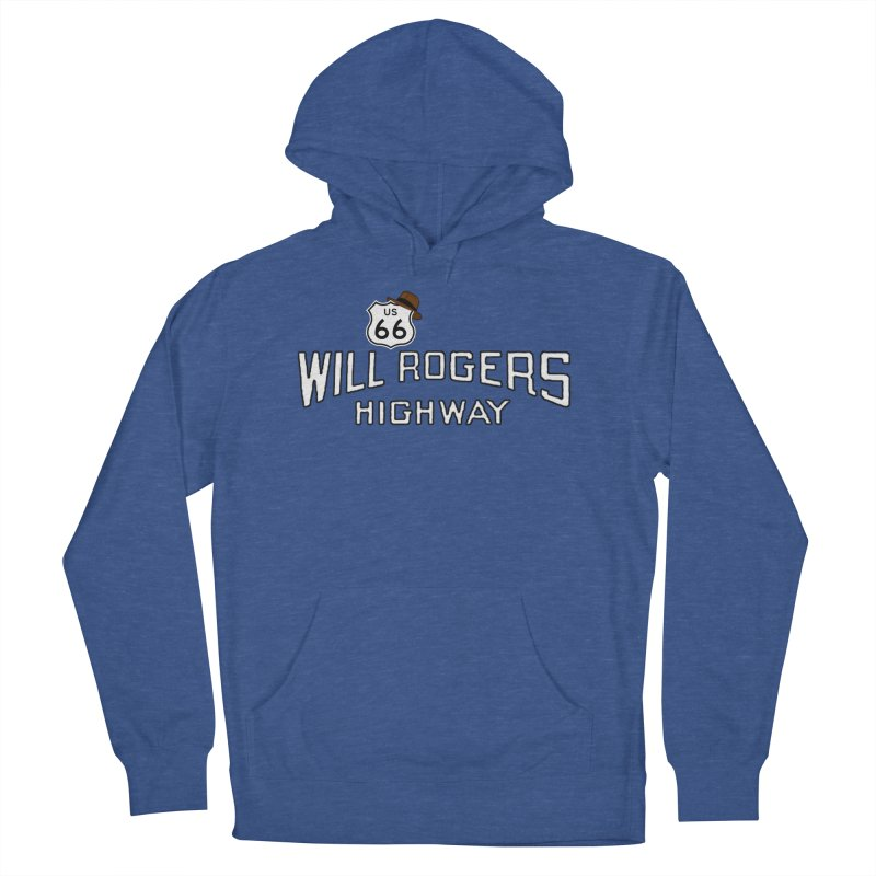 Will Rogers Highway 2 Women's French Terry Pullover Hoody by Cloudless Lens