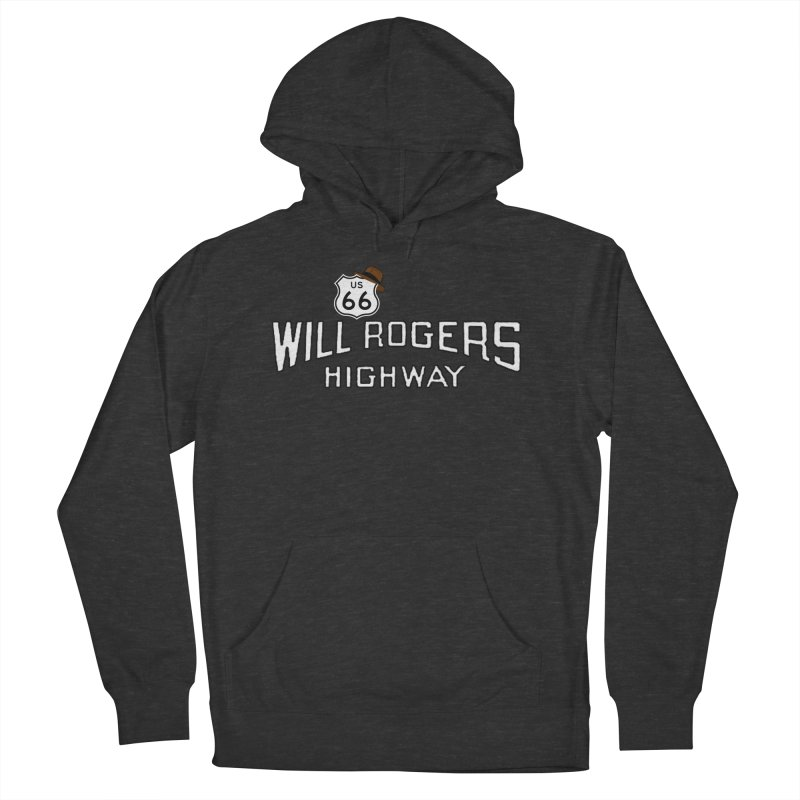 Will Rogers Highway 2 Men's French Terry Pullover Hoody by Cloudless Lens