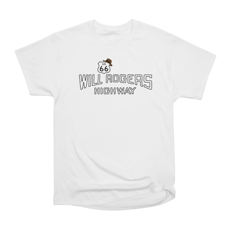 Will Rogers Highway 2 Men's Heavyweight T-Shirt by Cloudless Lens