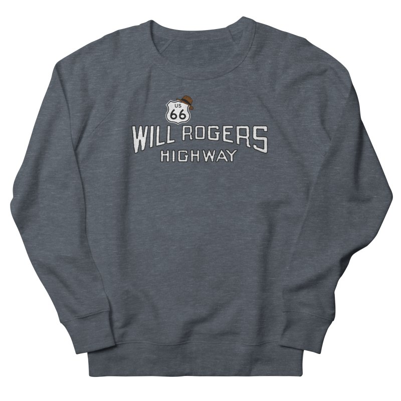 Will Rogers Highway 2 Women's French Terry Sweatshirt by Cloudless Lens