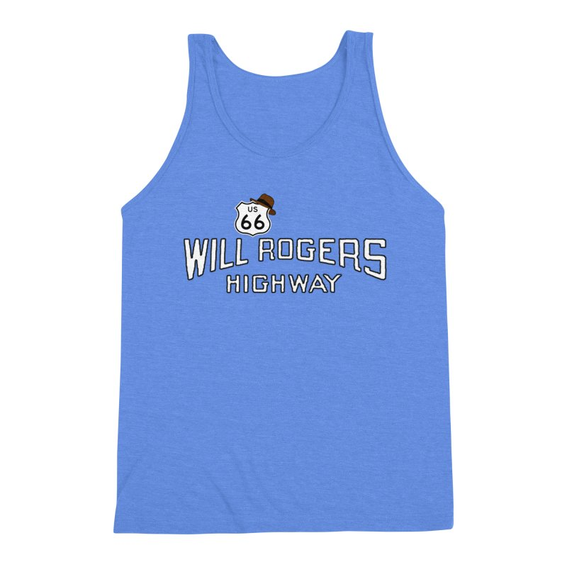 Will Rogers Highway 2 Men's Tank by Cloudless Lens