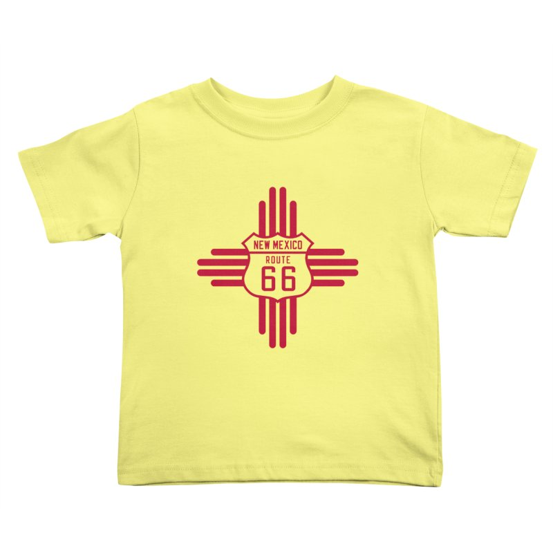 New Mexico 66 Kids Toddler T-Shirt by Cloudless Lens
