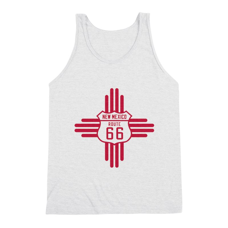 New Mexico 66 Men's Triblend Tank by Cloudless Lens