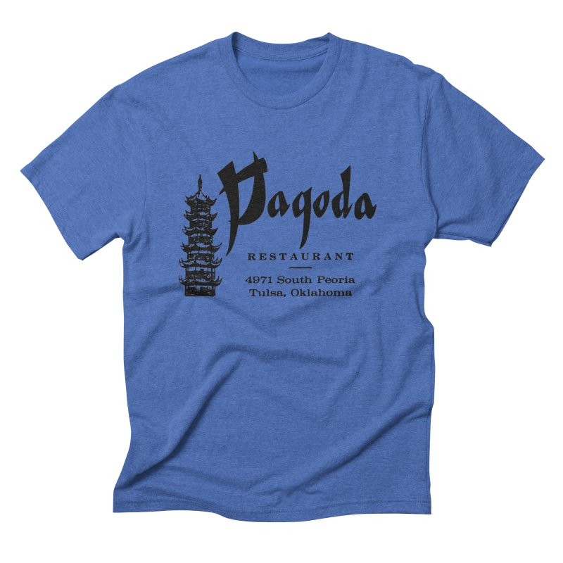 The Pagoda Men's T-Shirt by Cloudless Lens