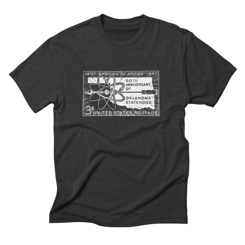 Arrows to Atoms Men's Triblend T-Shirt by Cloudless Lens