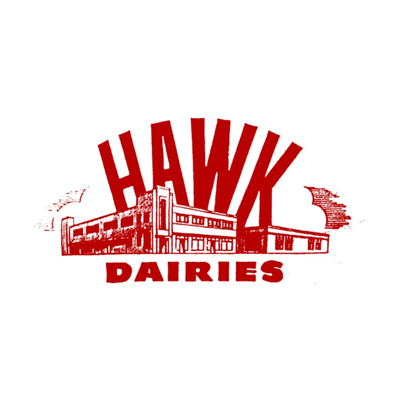 Hawk Dairies Men's T-Shirt by Cloudless Lens