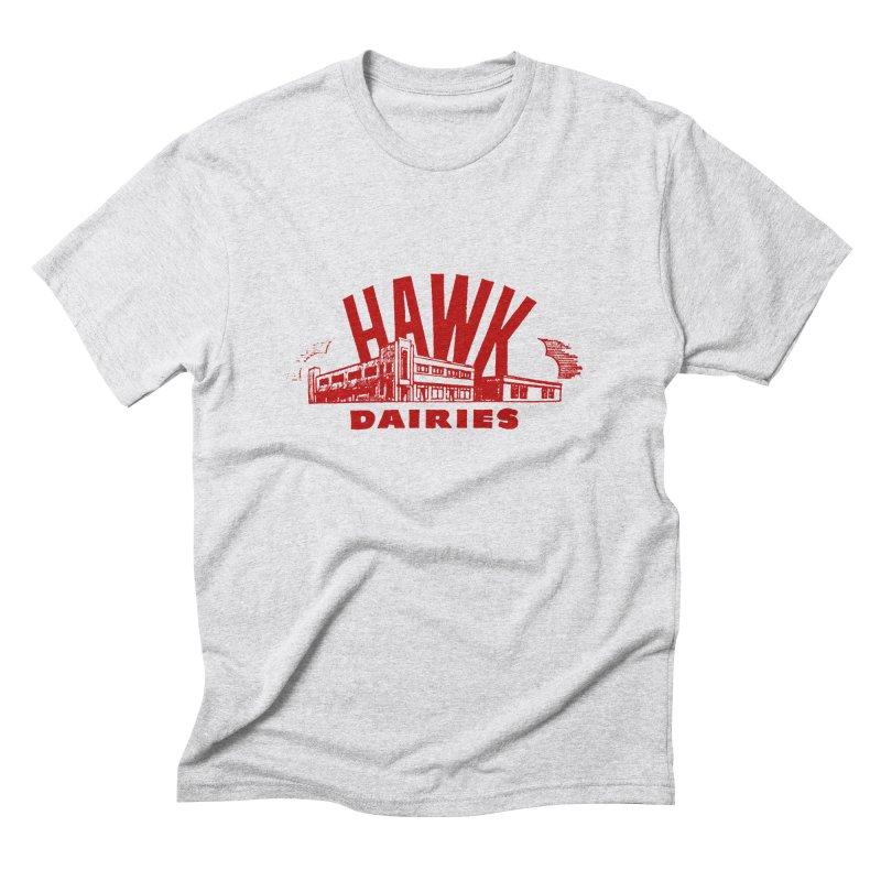 Hawk Dairies Men's Triblend T-Shirt by Cloudless Lens