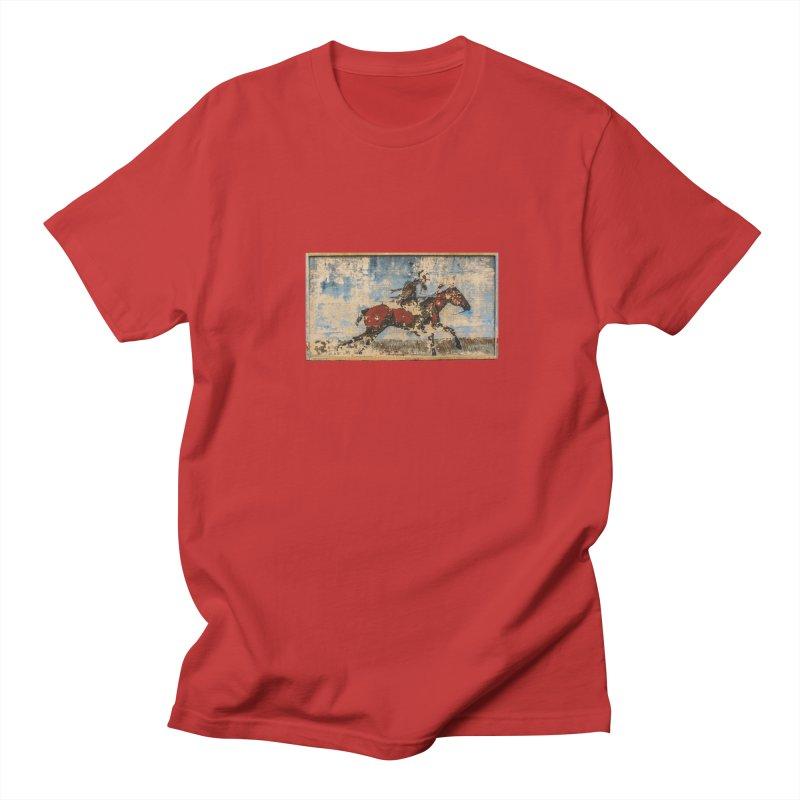 Hominy Mural Men's Regular T-Shirt by Cloudless Lens