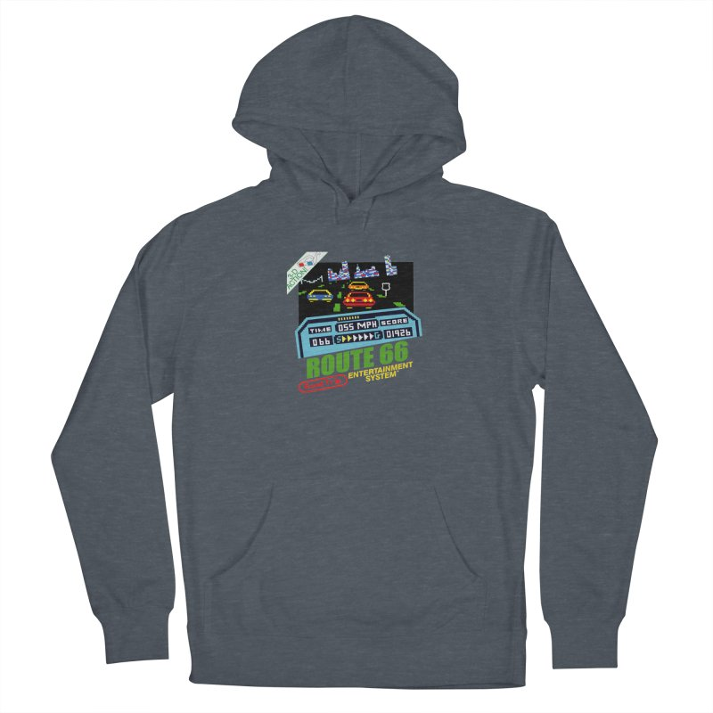 Route Racer Men's French Terry Pullover Hoody by Cloudless Lens