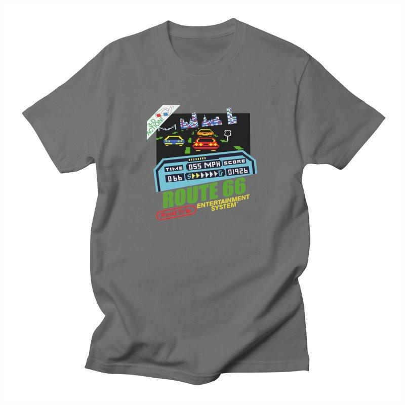 Route Racer Men's Regular T-Shirt by Cloudless Lens