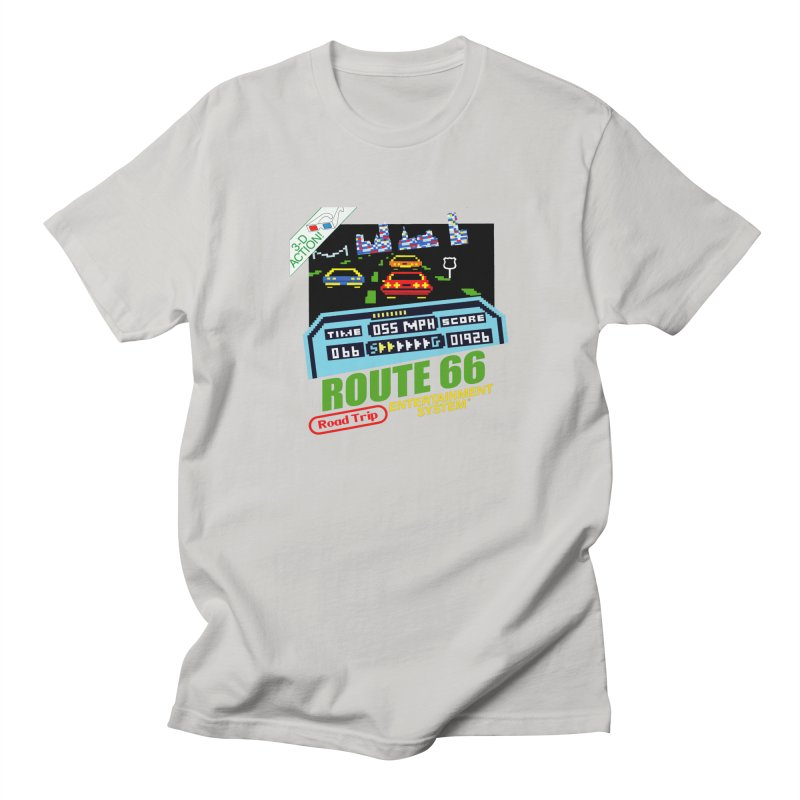 Route Racer Men's Regular T-Shirt by Cloudless Lens