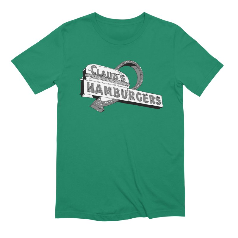 Claud's Hamburgers Men's Extra Soft T-Shirt by Cloudless Lens