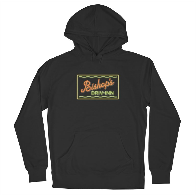 Bishop's Driv-Inn Men's French Terry Pullover Hoody by Cloudless Lens