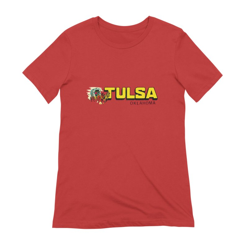 Tulsa Vintage Women's T-Shirt by Cloudless Lens
