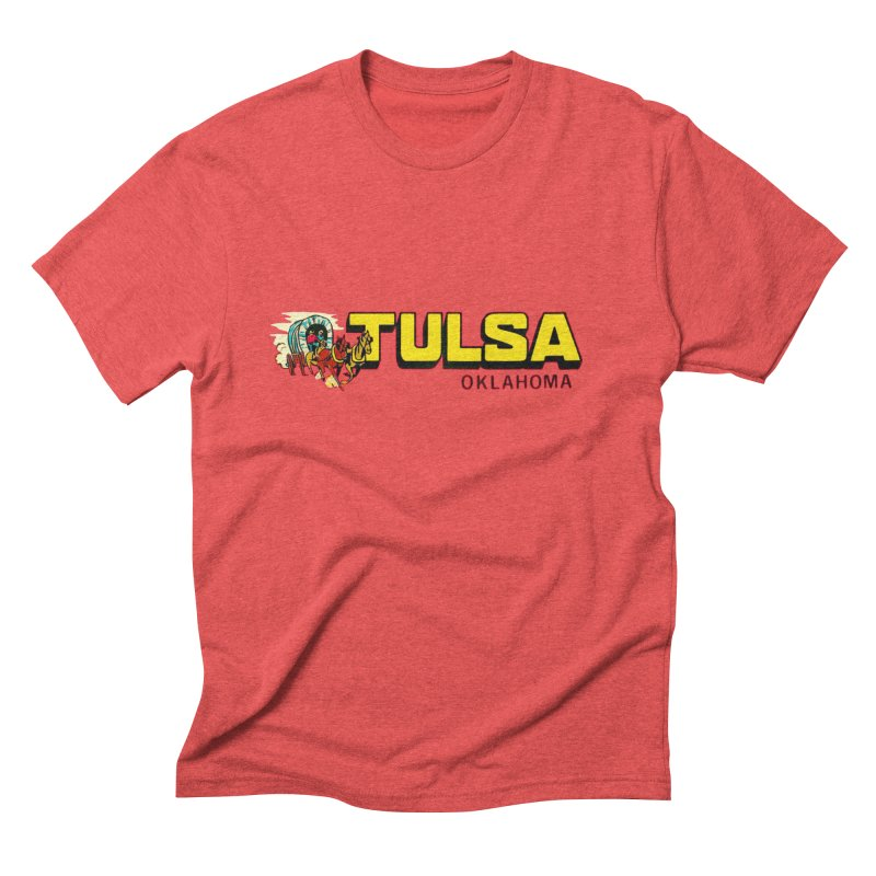 Tulsa Vintage Men's T-Shirt by Cloudless Lens