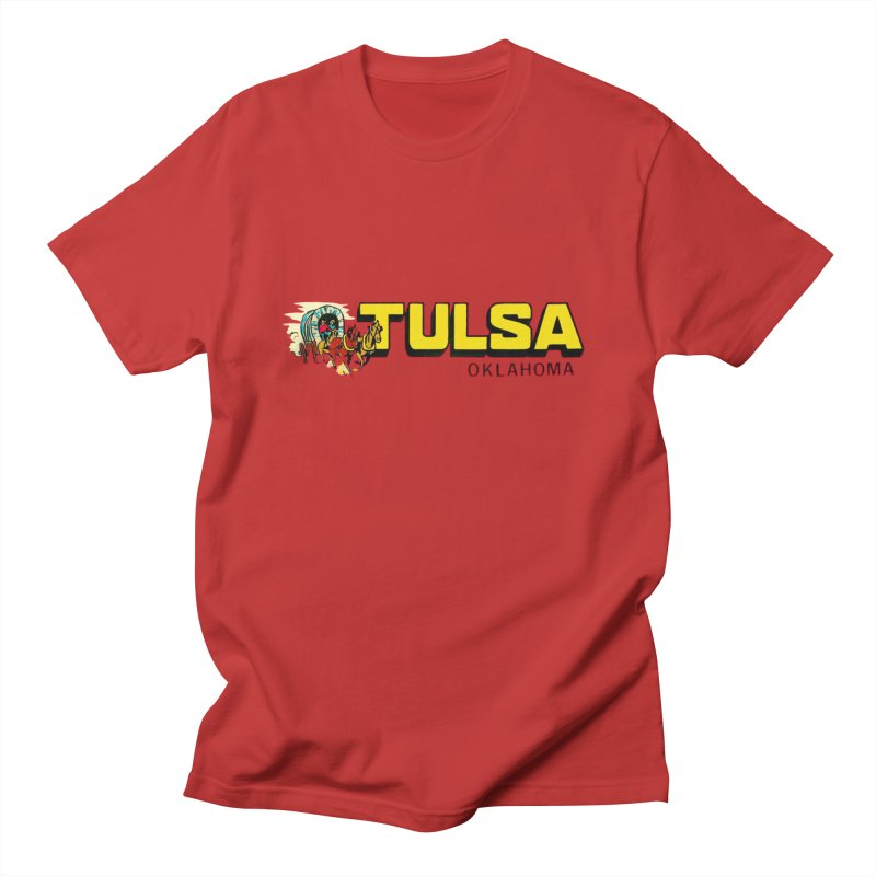 Tulsa Vintage Women's Regular Unisex T-Shirt by Cloudless Lens