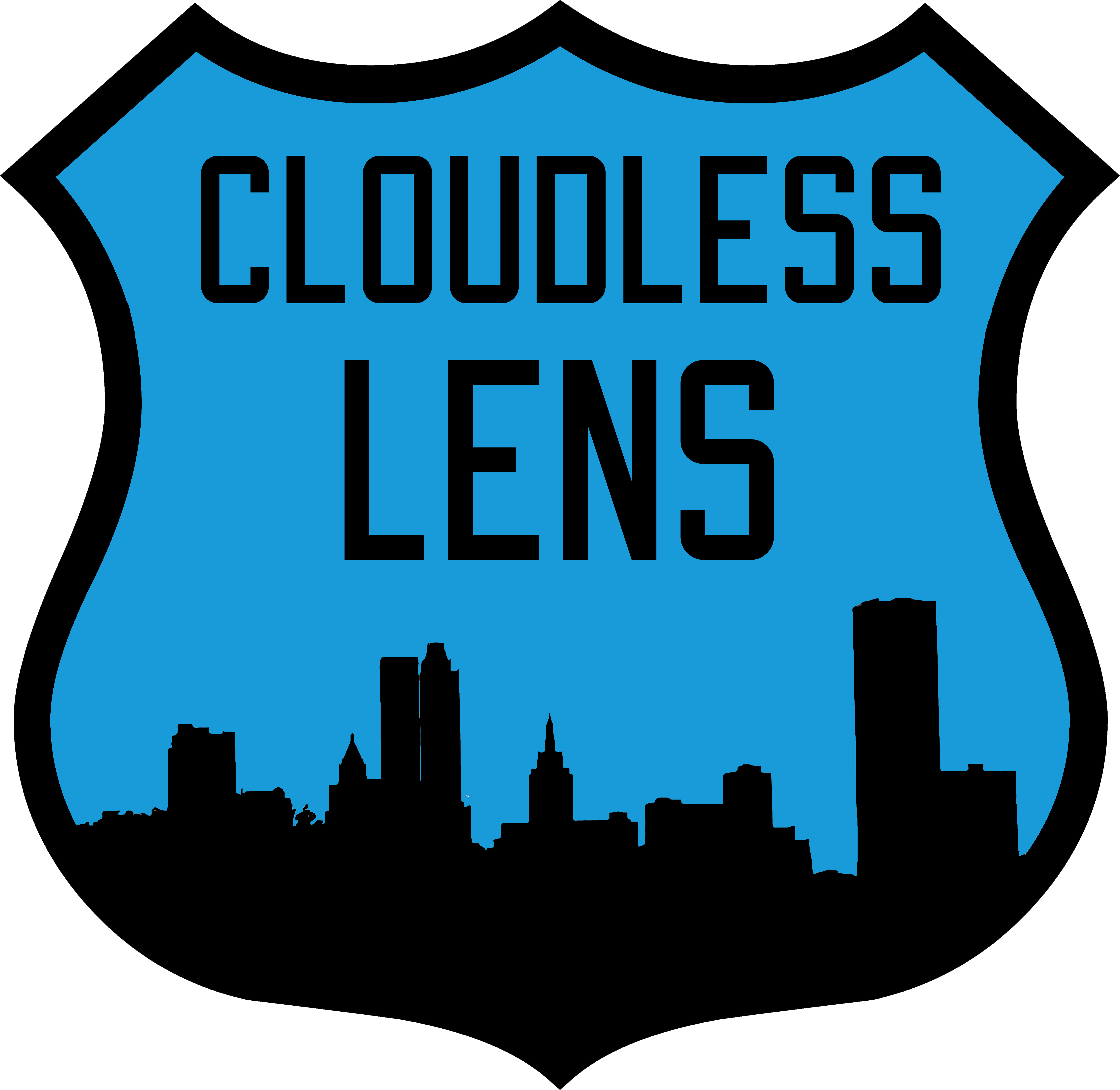 Cloudless Lens Logo