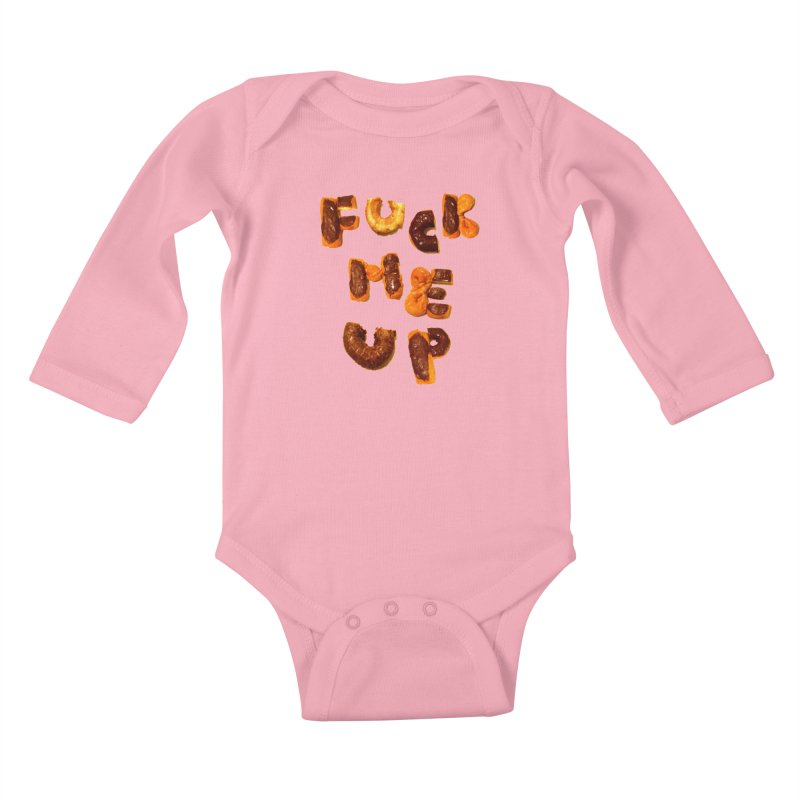 Fuck Me Up Kids Baby Longsleeve Bodysuit by cloudnumber9's Artist Shop