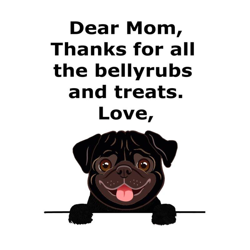 Dear Mom, Thanks Men's T-Shirt by Clown World T-Shirts & Custom Designs