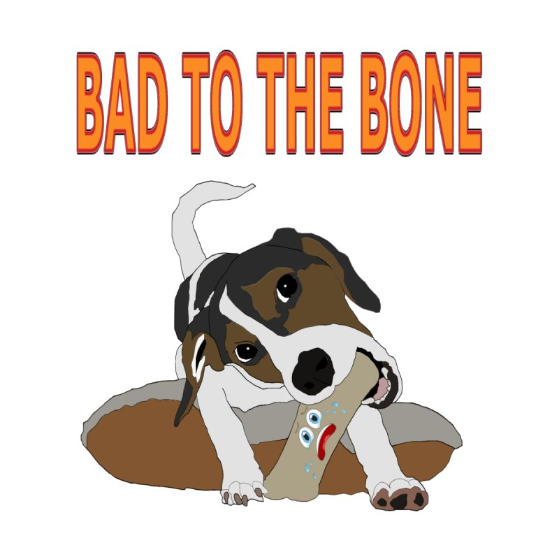 Bad To The Bone 2 Men's T-Shirt by Clown World T-Shirts & Custom Designs