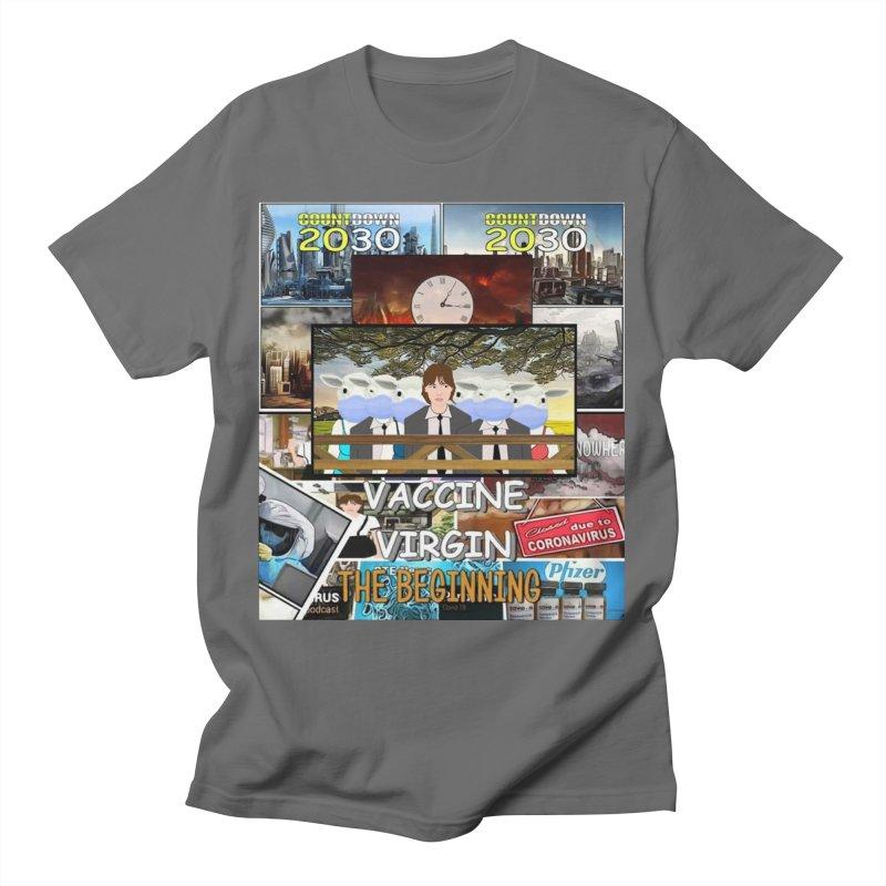Vaccine Virgin Men's T-Shirt by Clown World T-Shirts & Custom Designs