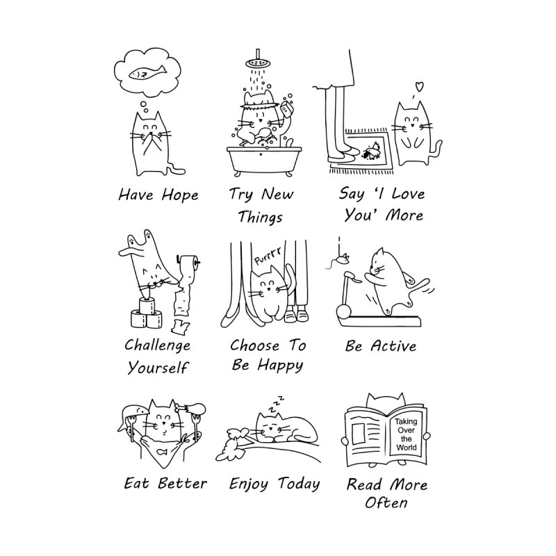 New Year's Resolutions   by clsantos82's Artist Shop
