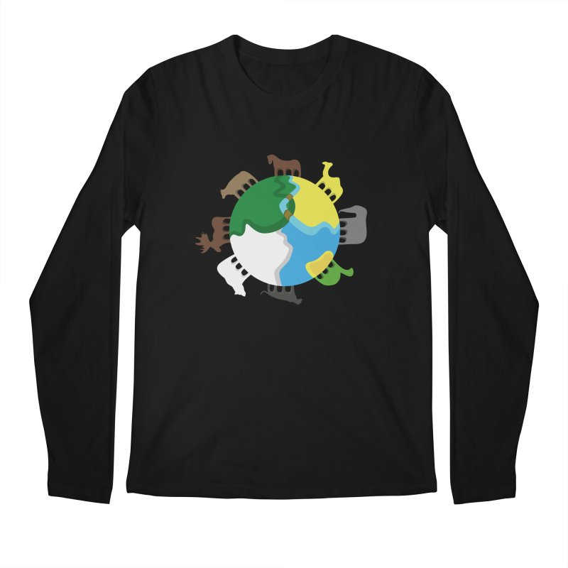 Quadruplanetism Men's Longsleeve T-Shirt by cmaifre's Artist Shop