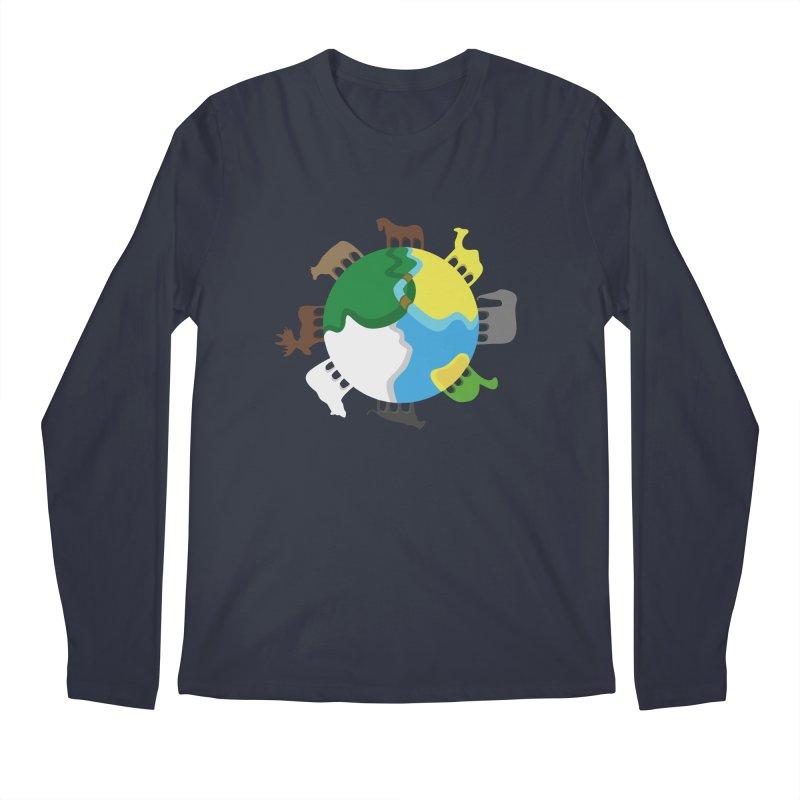 Quadruplanetism Men's Longsleeve T-Shirt by cmaifre's Artist Shop