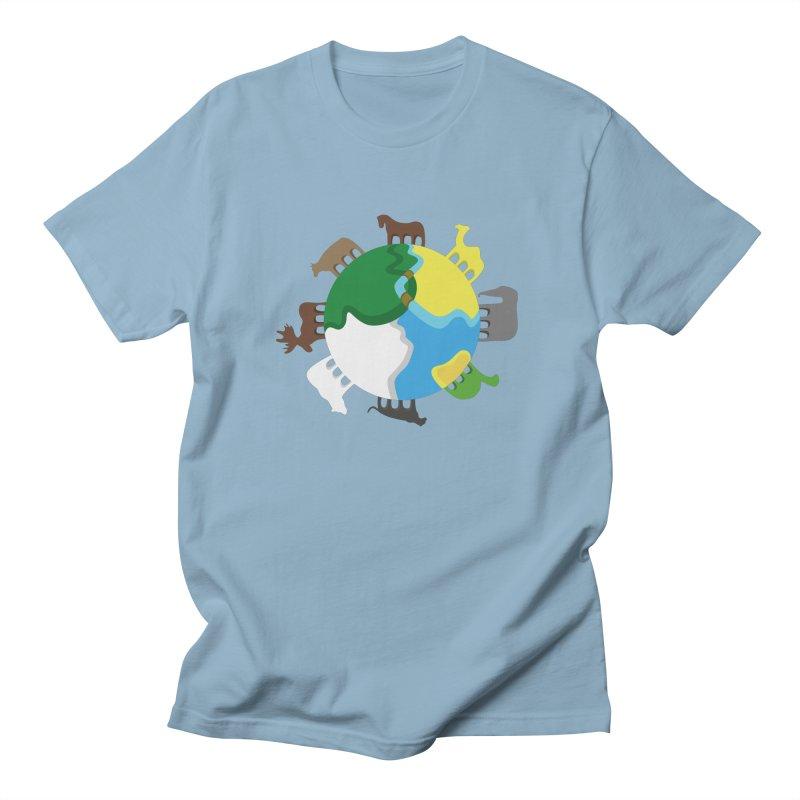 Quadruplanetism Men's T-Shirt by cmaifre's Artist Shop