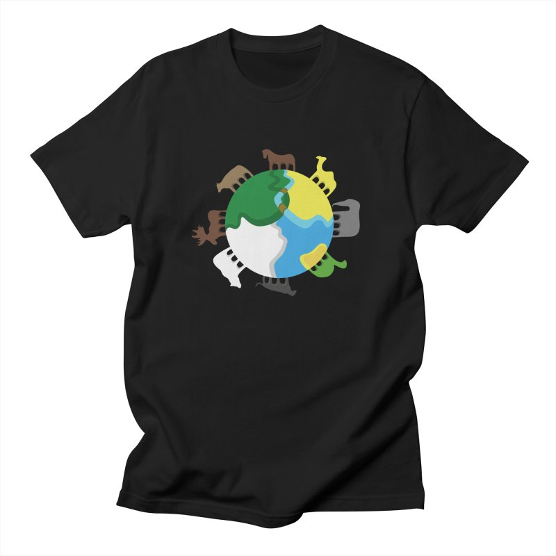Quadruplanetism in Men's Regular T-Shirt Black by cmaifre's Artist Shop
