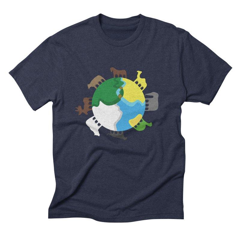 Quadruplanetism Men's Triblend T-shirt by cmaifre's Artist Shop