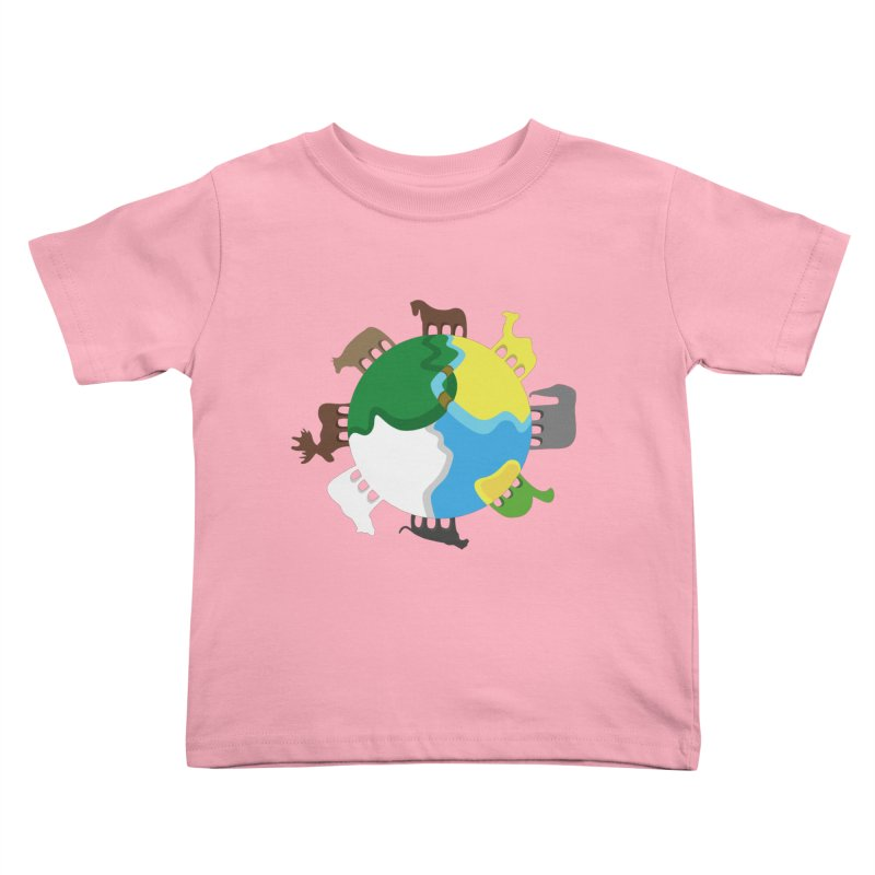 Quadruplanetism Kids Toddler T-Shirt by cmaifre's Artist Shop