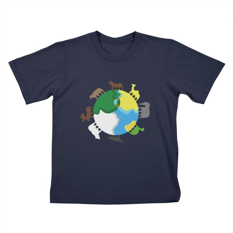 Quadruplanetism Kids T-Shirt by cmaifre's Artist Shop