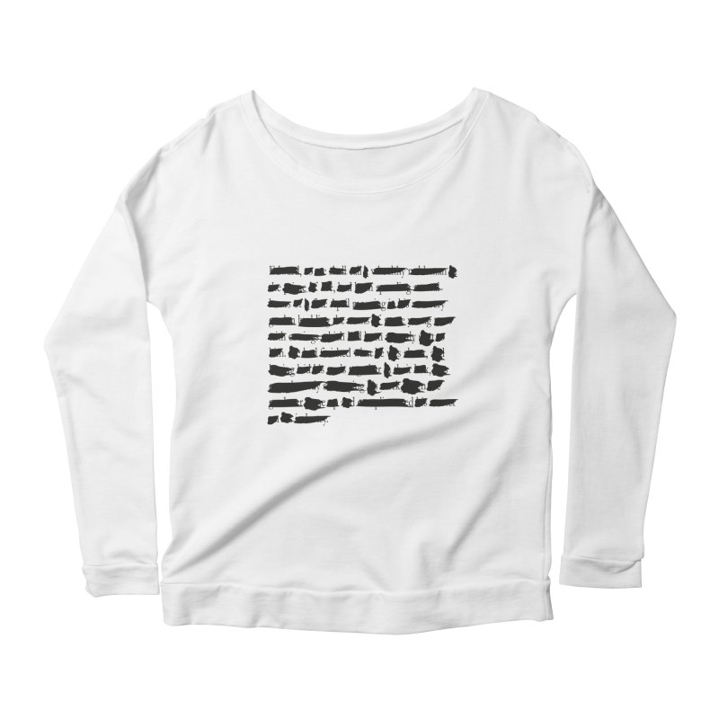 Deleted Goethe Women's Longsleeve Scoopneck  by cmaifre's Artist Shop