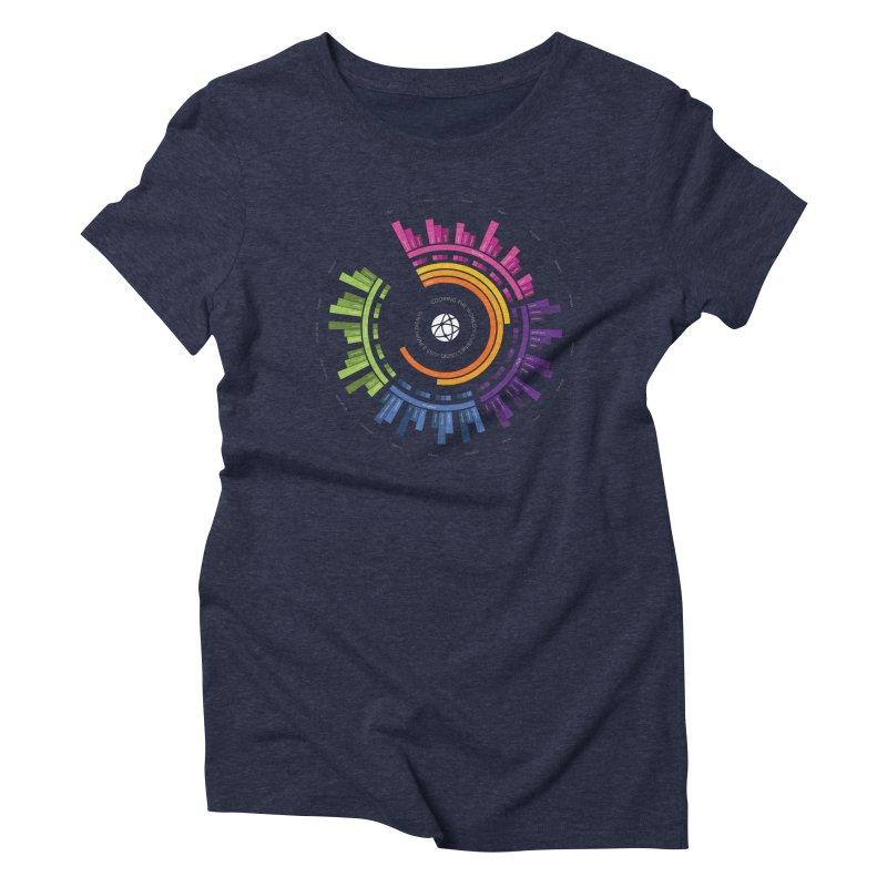 World's Cuisines Women's Triblend T-shirt by cmaifre's Artist Shop