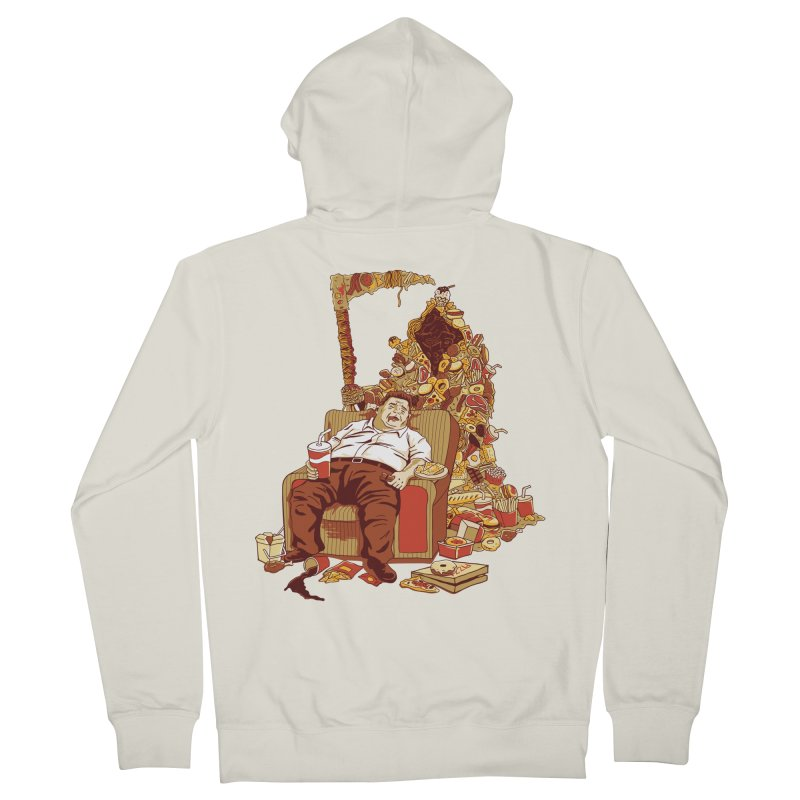 THE DEADLY DIET Women's Zip-Up Hoody by cmatos's Artist Shop