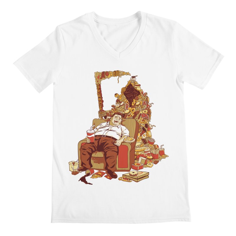 THE DEADLY DIET Men's V-Neck by cmatos's Artist Shop